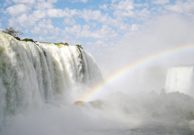 Cataratas arco-íris