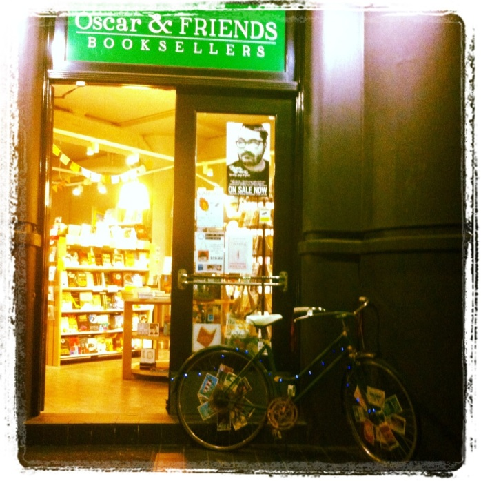 bicicleta luminária