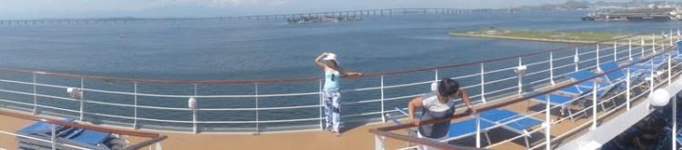 vista deck navio