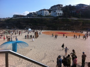 Esculturas no mar Bondi Beach