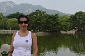 Silvia Medina na Coréia