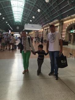Austrália com criança