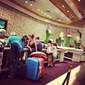 Recepção MGM Hotel Las Vegas