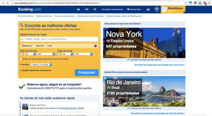 Booking.com dicas