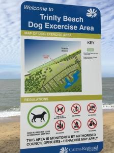 praia para cachorros Australia