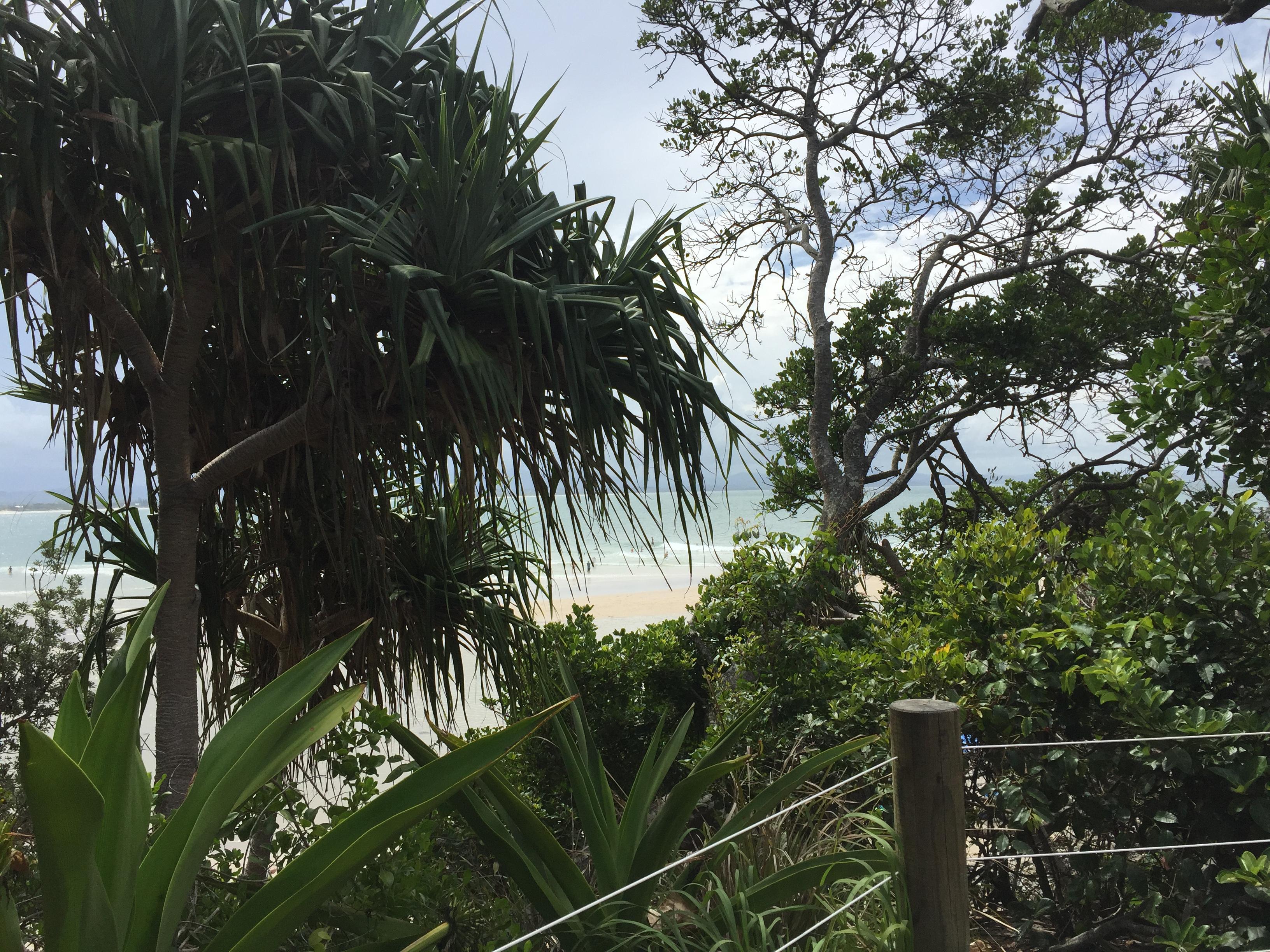 Vista Praia Austrália Byron Bay