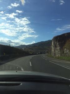 Sul de Minas estrada