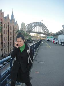 Sydney city Harbour bridge