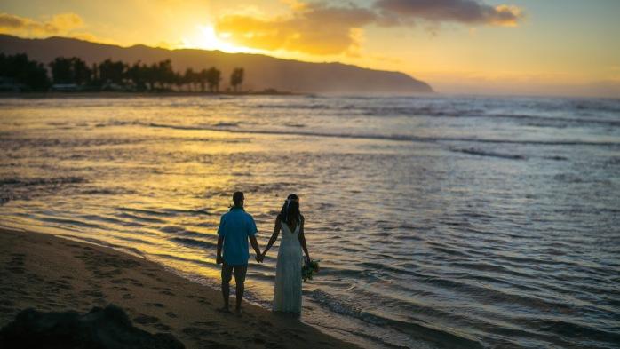 casamento hawaii praia