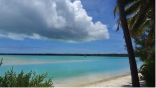 lagoon cook Island