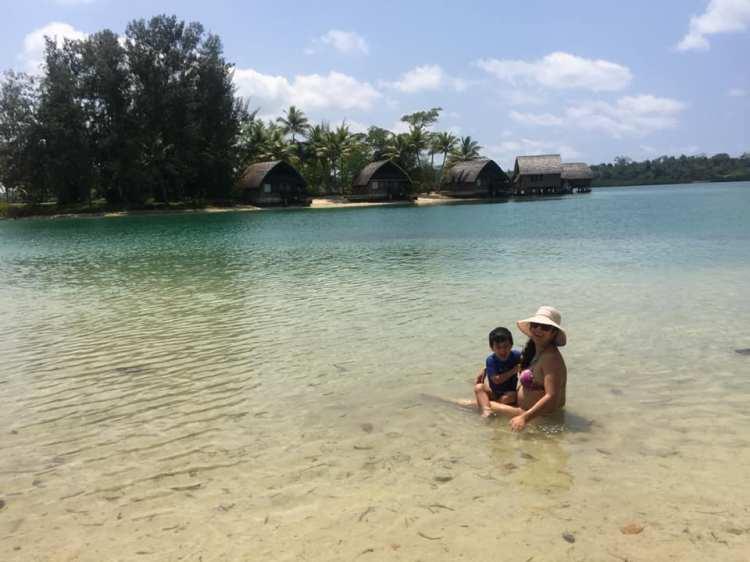 Vanuatu com crianças