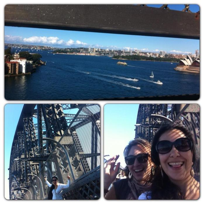 cruzar Harbour Bridge
