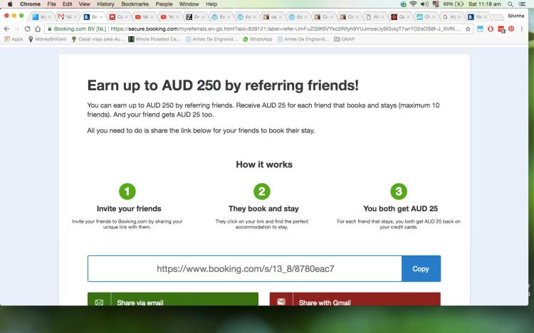 ganhar dinheiro booking.com