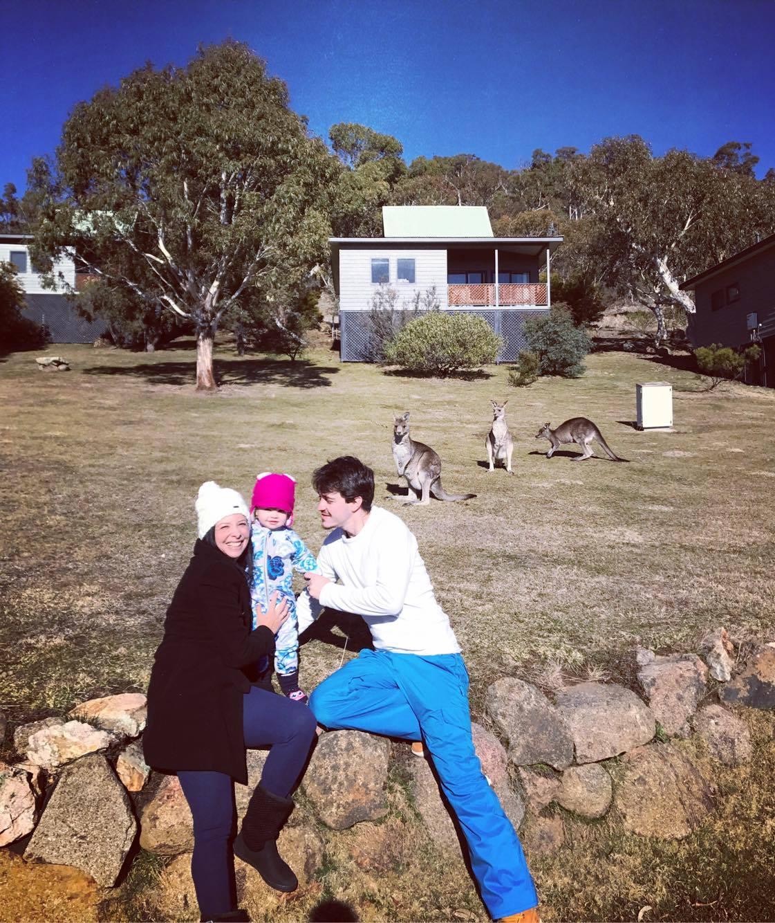 Neve na Australia hospedagem