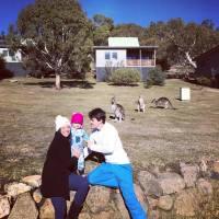 Viagem de Neve na Austrália com bebê