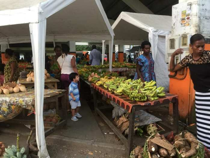 Mercado em Vanuatu