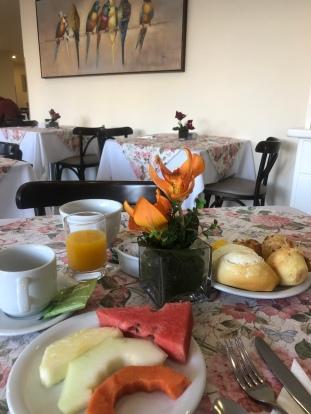 Cafe da manhã hotel Foz