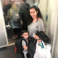 Mala de Mão para viagens com bebês